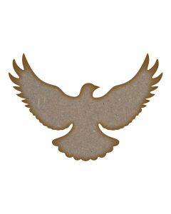 Flying Dove MDF Laser Cut Craft Blanks in Various Sizes