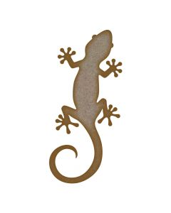 Gecko MDF Laser Cut Craft Blanks in Various Sizes