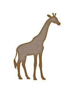 Giraffe MDF Laser Cut Craft Blanks in Various Sizes