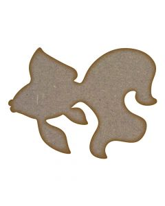 Goldfish MDF Laser Cut Craft Blanks in Various Sizes