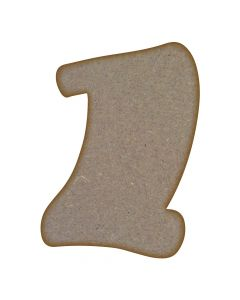 Graduation Scroll MDF Laser Cut Craft Blanks in Various Sizes