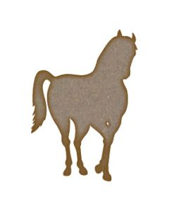 Horse MDF Laser Cut Craft Blanks in Various Sizes