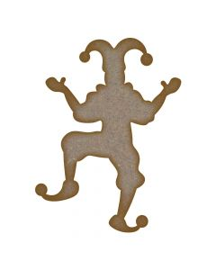 Jester MDF Laser Cut Craft Blanks in Various Sizes