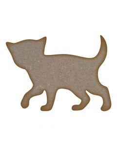 Kitten MDF Laser Cut Craft Blanks in Various Sizes