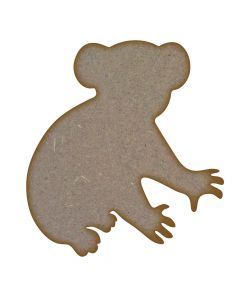 Koala MDF Laser Cut Craft Blanks in Various Sizes