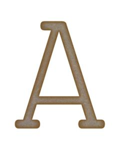 Letter A - Small (mm x 90mm)