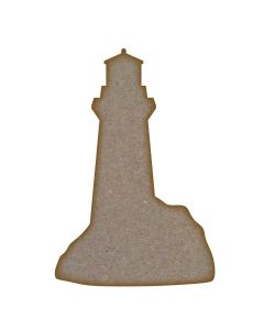 Lighthouse MDF Laser Cut Craft Blanks in Various Sizes