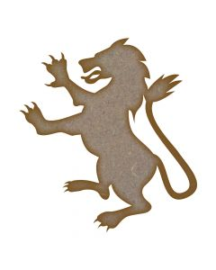 Lion MDF Laser Cut Craft Blanks in Various Sizes