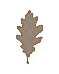 Oak Leaf MDF Laser Cut Craft Blanks in Various Sizes