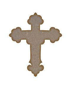 Ornate Cross - Small (75mm x 90mm)