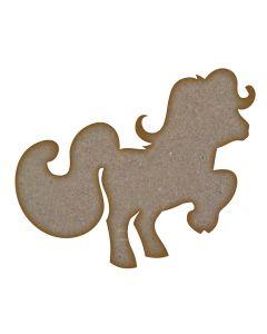 Pony - Small (90mm x 75mm)