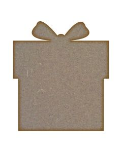 Present - MDF Laser Cut Craft Blanks in Various Sizes