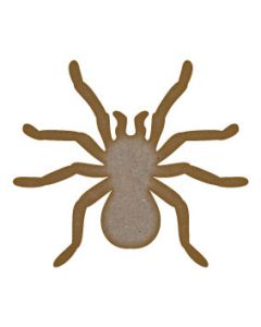 Tarantula MDF Laser Cut Craft Blanks in Various Sizes