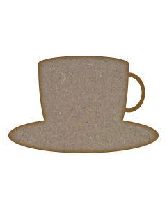 Tea Cup - Mini x 10 (30mm x 19mm)