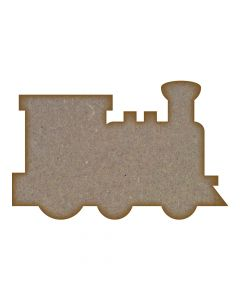 Train MDF Laser Cut Craft Blanks in Various Sizes