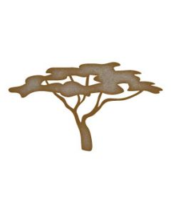 Tree (Design 4) MDF Laser Cut Craft Blanks in Various Sizes