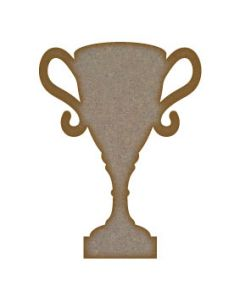 Trophy MDF Laser Cut Craft Blanks in Various Sizes
