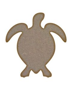 Turtle MDF Laser Cut Craft Blanks in Various Sizes