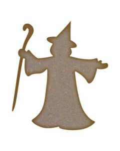 Wizard MDF Laser Cut Craft Blanks in Various Sizes