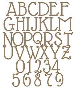 Alphabet Set 1 QTY x 100 Letters