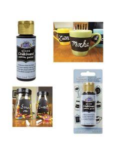 2 oz. Americana Gloss Enamel Black Paint