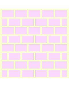 Fairydust Stencils & Masks - Hitting A Brick Wall