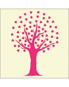 Fairydust Stencils & Masks - Heart Leaf Tree