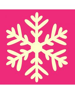 Fairydust Stencils & Masks - Snowflake Design 3 Stencil and Mask