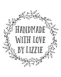 Personalised Laser Rubber Stamp - Handmade By: Ornate Leaves