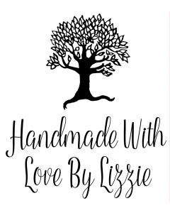 Personalised Laser Rubber Stamp - Handmade By: Tree